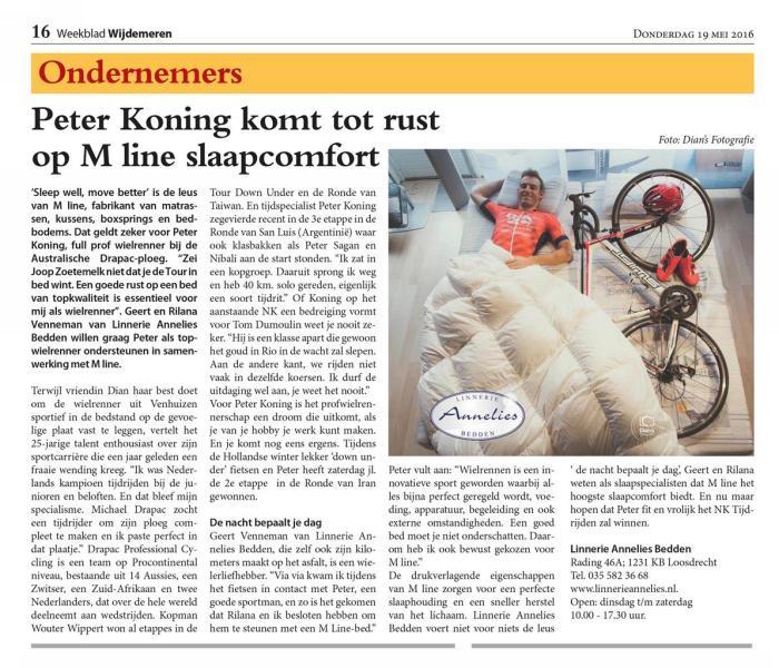Linnerie Annelies Nieuws
