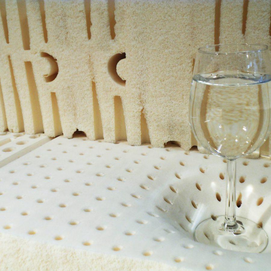 Latex matrassen beddenwinkel linnerie Annelies Loosdrecht