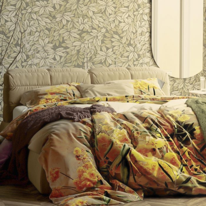 Heckett Lane Yellow Inspiring bedlinen